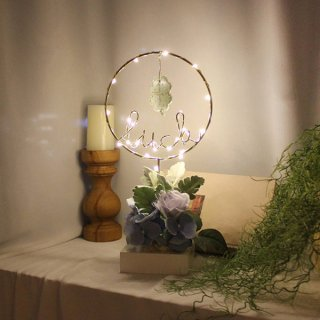 Floral LUCK LED/Purple