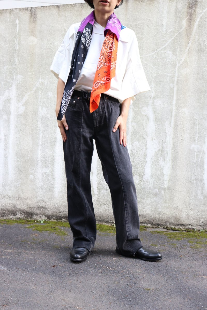 jonnlynx【 Reproduct Denim / Black-A 】