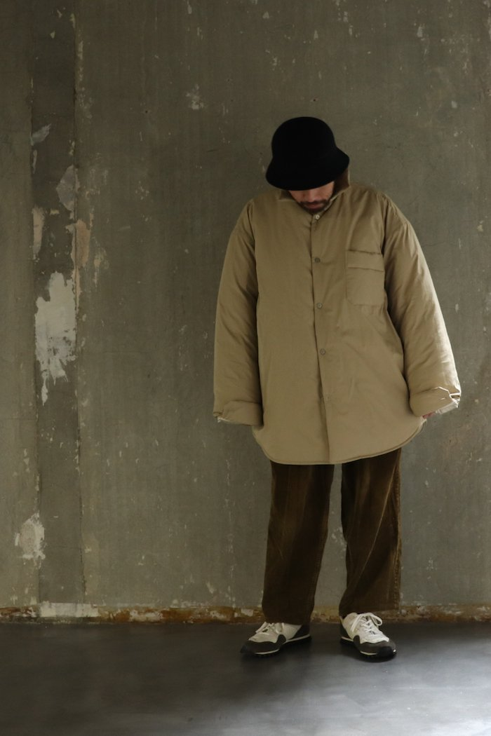 HED MAYNER【 PUFFY SHIRT / BEIGE 】