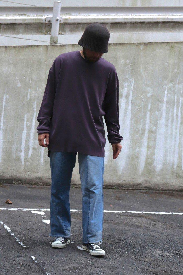 jonnlynx【 Men's rib tee / Purple】