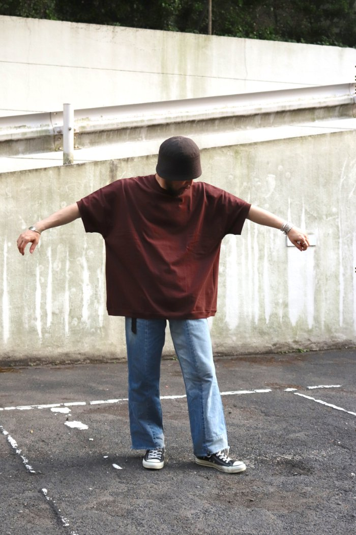 jonnlynx【 Heavy wait PK tee / Brown】
