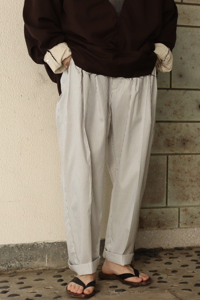 HED MAYNER【 4 PLEAT PANT 】