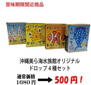 <img class='new_mark_img1' src='https://img.shop-pro.jp/img/new/icons12.gif' style='border:none;display:inline;margin:0px;padding:0px;width:auto;' />【賞味期限間近】沖縄美ら海水族館オリジナルドロップ4個セット