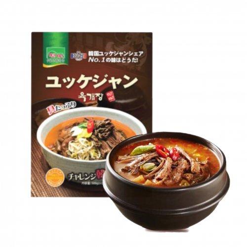 【韓国食材】故郷ユッケジャンスープ500g(2人前)