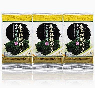 宋家伝統のり−黄(3パック入り)