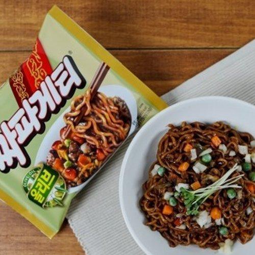 【韓国炸醤麺】農心チャパゲティジャジャン麺140g