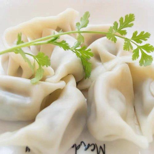 【冷凍】香菜水餃子(パクチー入り水餃子)1�