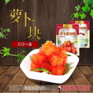 【三口泡菜】カクテキキムチ415g