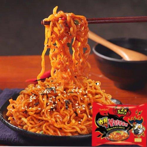 【韓国ラーメン】激辛ヘッブルダック炒め麺(特辣火鶏麺)140g