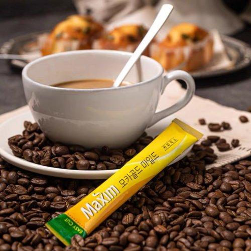 【韓国珈琲】モカゴールドコーヒー(黄色100本入り)