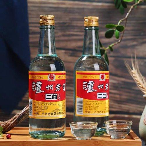 瀘州老窖−二曲酒500ml(52℃)