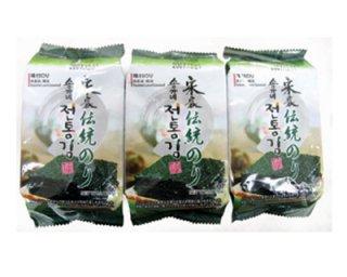 【韓国のり】宋家伝統のり−緑(3パック入り)
