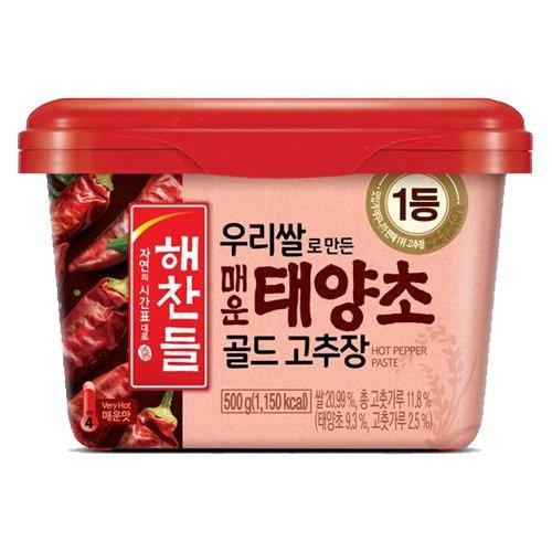 【韓国辣醤】へチャンドル辛口コチュジャン500g