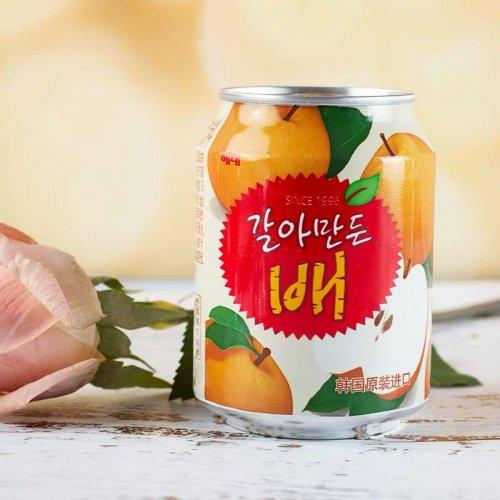【韓国ジュース】おろし梨ジュース(缶)238ml
