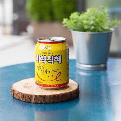 【韓国ジュース】八道ビラクシッケジュース(缶)238ml
