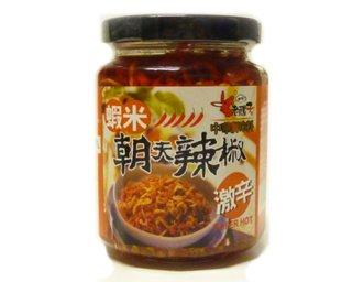 老騾子朝天辣椒−蝦米(激辛)240g
