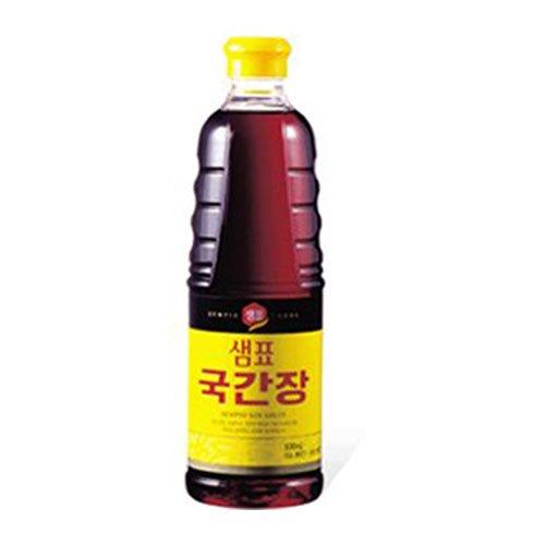 韓国薄口醤油(グッ醤油)930ml