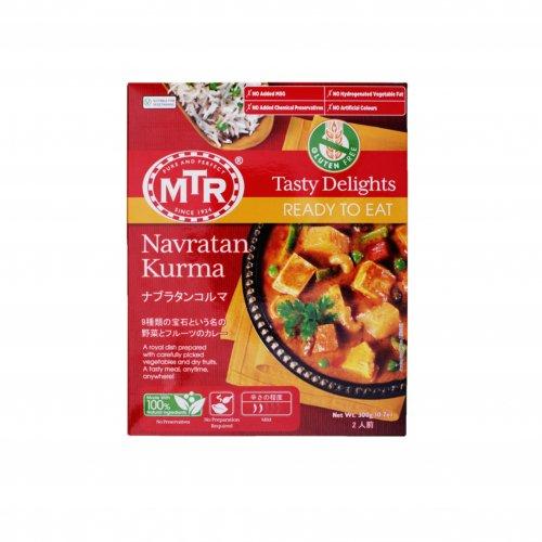 【印度カレー風味】MTR9種類の野菜とフルーツのカレー(2人前)