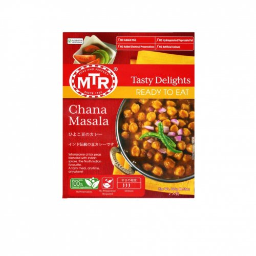 【印度カレー風味】MTRひよこ豆のカレー(2人前)
