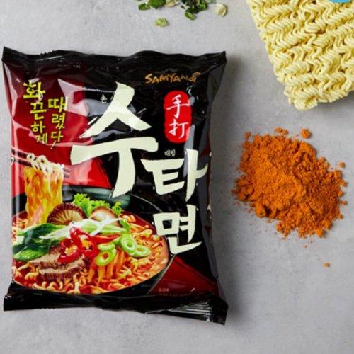 【韓国ラーメン】三養手打ち麺(スタメン)120g