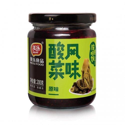 美楽風味酸菜200g