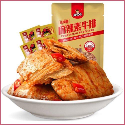 【中華豆干】好巴食麻辣素牛排100g