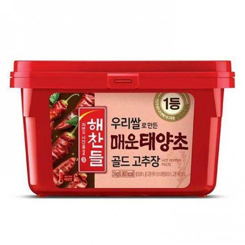 【韓国辣醤】へチャンドル辛口コチュジャン3kg