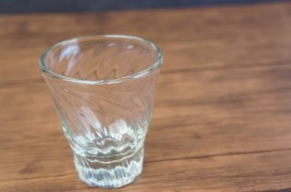 琉球ガラス レデューサーグラス 【白鴉再生硝子製作所】