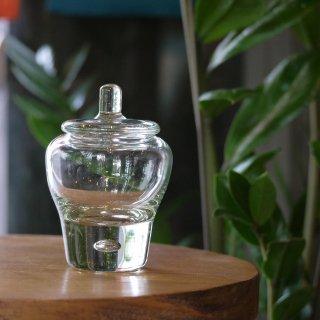 琉球ガラス 露ぬ玉 フタモノ【ガラス工房 てとてと】