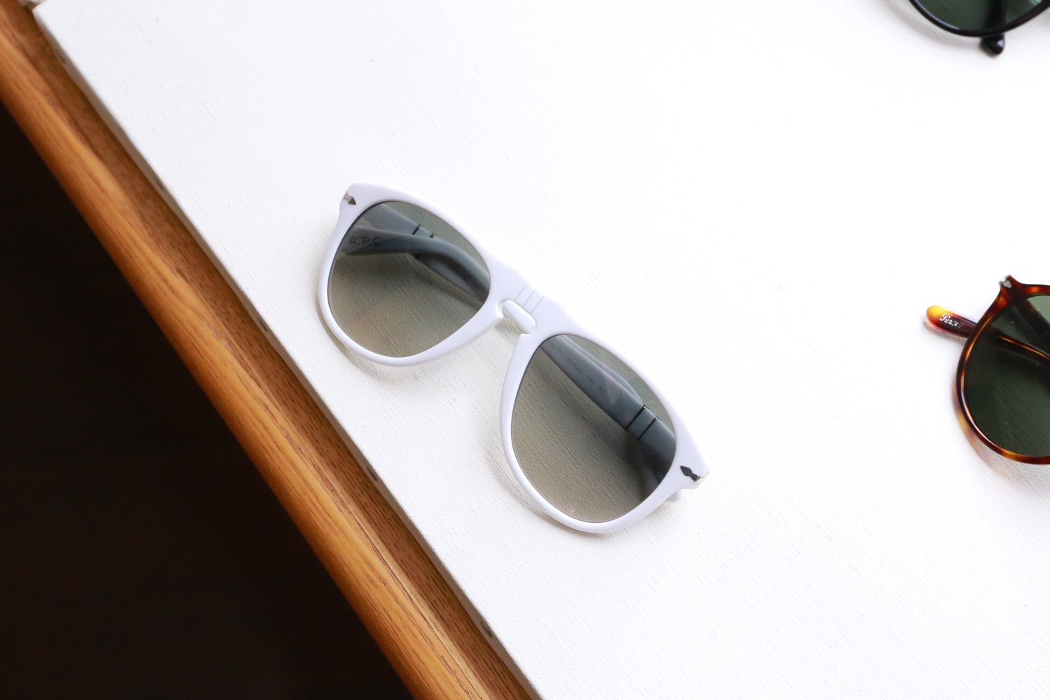 Persol × A.P.C.:ペルソール × アーペーセー