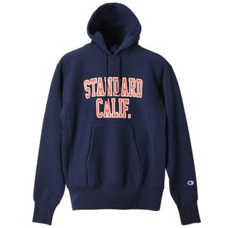 STANDARD CALIFORNIA スタンダード カリフォルニア Champion × SD Reverse Weave Hood Sweat