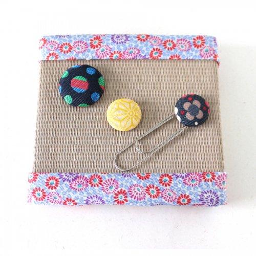 ミニ置き畳と小物セット(春色)