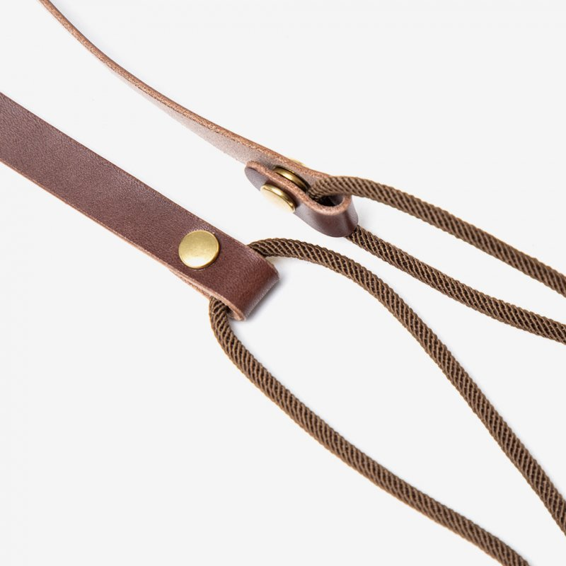 Pouch / BROWN × D.BROWN