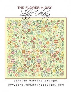 THE FLOWER A DAY STITCH ALONG<img class='new_mark_img2' src='https://img.shop-pro.jp/img/new/icons34.gif' style='border:none;display:inline;margin:0px;padding:0px;width:auto;' />
