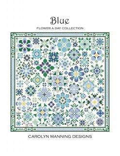 BLUE - FLOWER A DAY