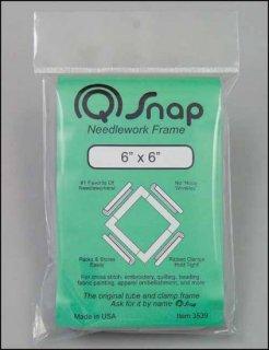 6x6インチ(約15x15cm)Qスナップフレーム