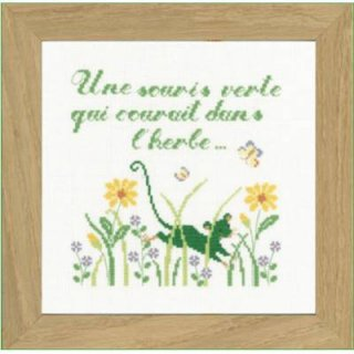 UNE SOURIS VERTE(緑のネズミ)
