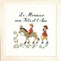 LE MEUNIER,L'ANE ET SON FILS(粉屋の息子とロバ:イソップ童話)