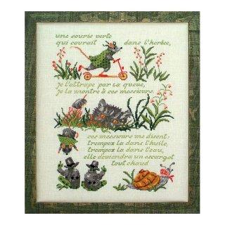 SOUIRS VERTE (緑のネズミ:フランス童謡)