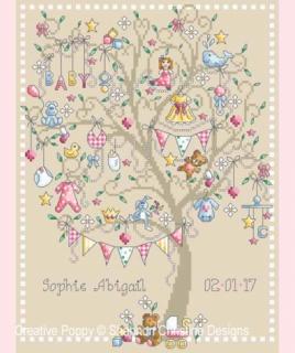 BABY GIRL TREE