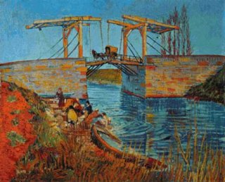 THE BRIDGE AT LANGLOIS - VINCENT VAN GOPH