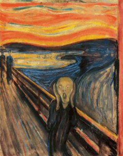 THE SCREAM (EDVARD MUNCH)-ムンクの叫び