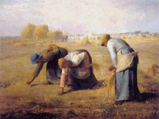 THE GLEANERS - JEAN FRANCOIS MILLET (ミレー 落穂拾い)