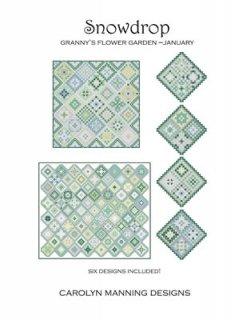 SNOWDROP - GRANNY'S GARDEN JANUARY