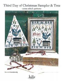 THIRD DAY OF CHRISTMAS SAMPLER & TREE お取り寄せ