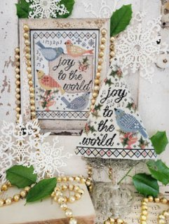 <img class='new_mark_img1' src='https://img.shop-pro.jp/img/new/icons1.gif' style='border:none;display:inline;margin:0px;padding:0px;width:auto;' />FOURTH DAY OF CHRISTMAS SAMPLER  お取り寄せ