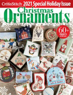 <img class='new_mark_img1' src='https://img.shop-pro.jp/img/new/icons1.gif' style='border:none;display:inline;margin:0px;padding:0px;width:auto;' />Just Crossstitch Christmas Ornament 2021  お取り寄せ
