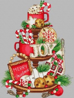 <img class='new_mark_img1' src='https://img.shop-pro.jp/img/new/icons1.gif' style='border:none;display:inline;margin:0px;padding:0px;width:auto;' />CHRISTMAS SWEETS ON PLATTER