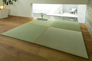 置き畳 OITOKO NATURAL 熊本県産い草目積 83cm角