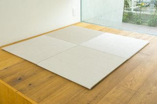 置き畳 OITOKO DESIGN グレーチェリー 75cm角